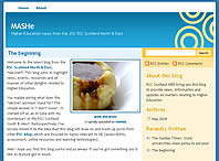 MASHe Blog Screenshot