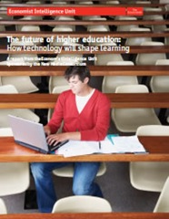 Cover of The future of higher education: How technology will shape learning