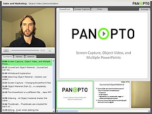 Panopto - Free Lecture Capture System