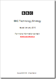 BBC Technology Strategy Cover