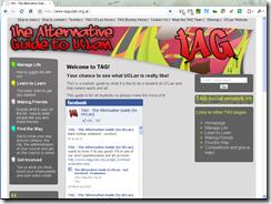 TAG website