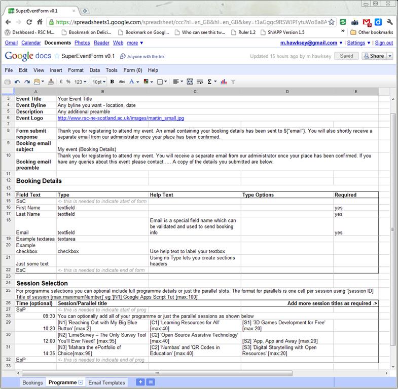 [Work in Progress] Creating a framework for custom form interfaces using Google Apps Script