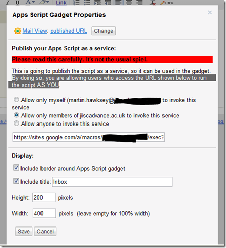 What you can't do with Gmail and Document Services now available in Apps Script