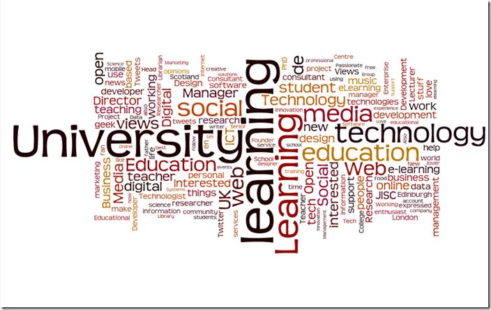 CETIS Follower Description Wordle