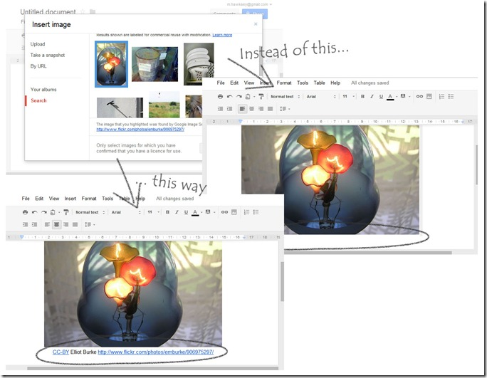 A better way for Google Docs to embed?