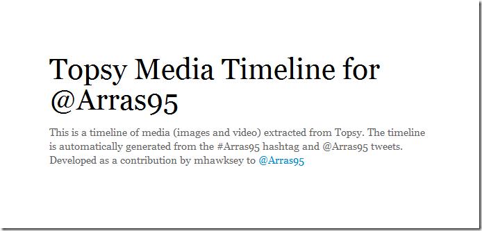 @Arras95 Dynamic Timeline