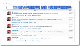 Backup Twitter Status Updates to a Google Spreadsheet