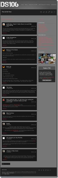 ds106 blogs hub