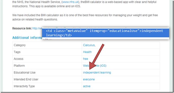 example LRMI/schema.org