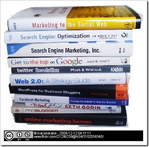 Livros de Redes Sociais, SEO e Web 2.0