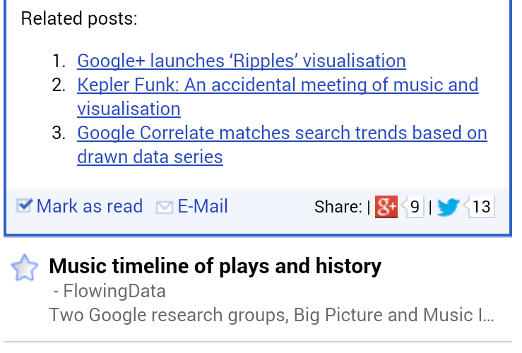 Hosting your own Google Reader themed RSS aggregator with TT