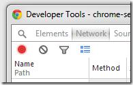 Developer Tools : record