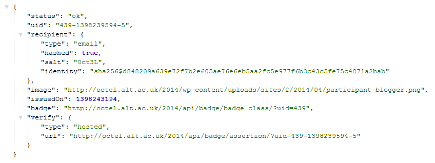 ALT Innovates: A BadgeOS WordPress plugin add-on to host and issue Mozilla Open Badges