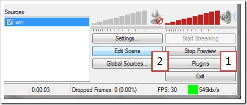 Edit scene
