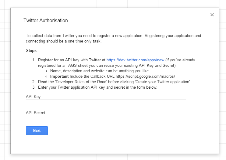 Creating a Twitter Question/Revision Bot using Google Sheets
