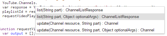 Getting the details of uploads to any YouTube channel into a Google Sheet