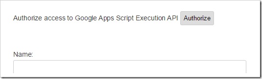 Google Sheets as a Database – Authenticated INSERT with Apps Script using Execution API