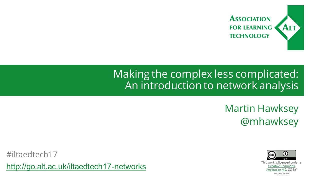 Making the complex less complicated: An introduction to