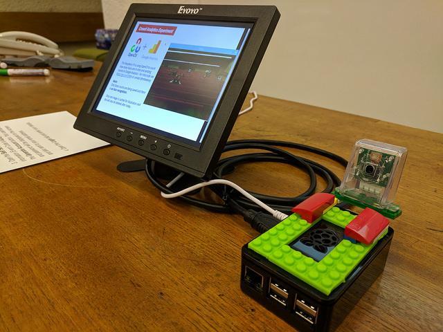 Raspberry Pi + camera setup