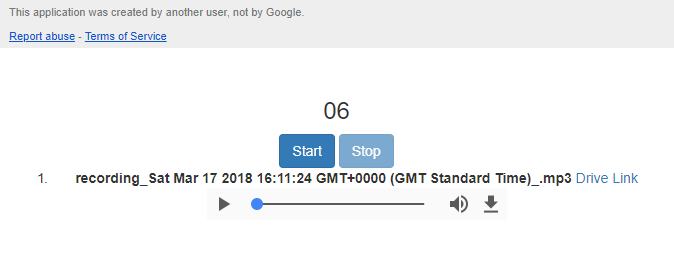 Example LameJS Google Apps Script Web App (click to try)