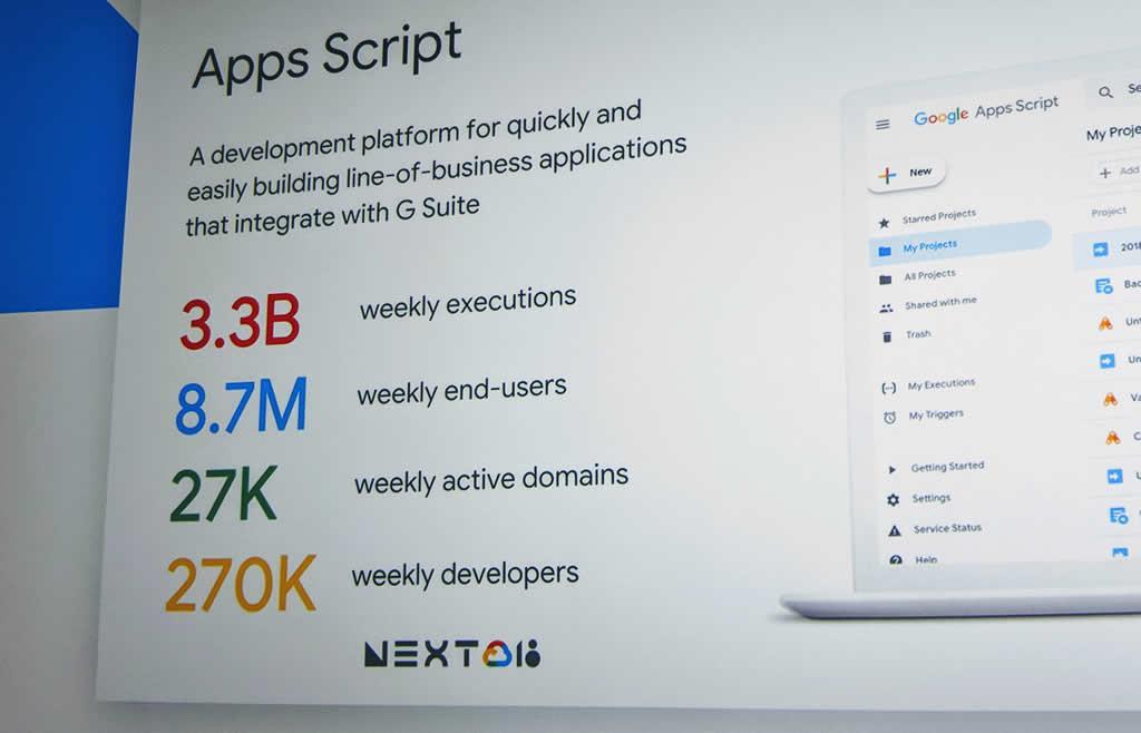 Google Apps Script Stats