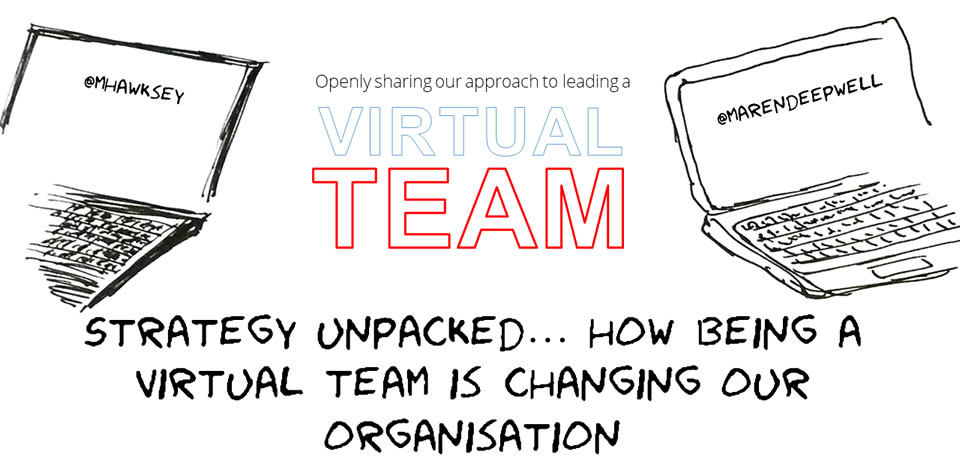 Virtual Teams: Strategy unpacked… how being a virtual team is changing our organisation