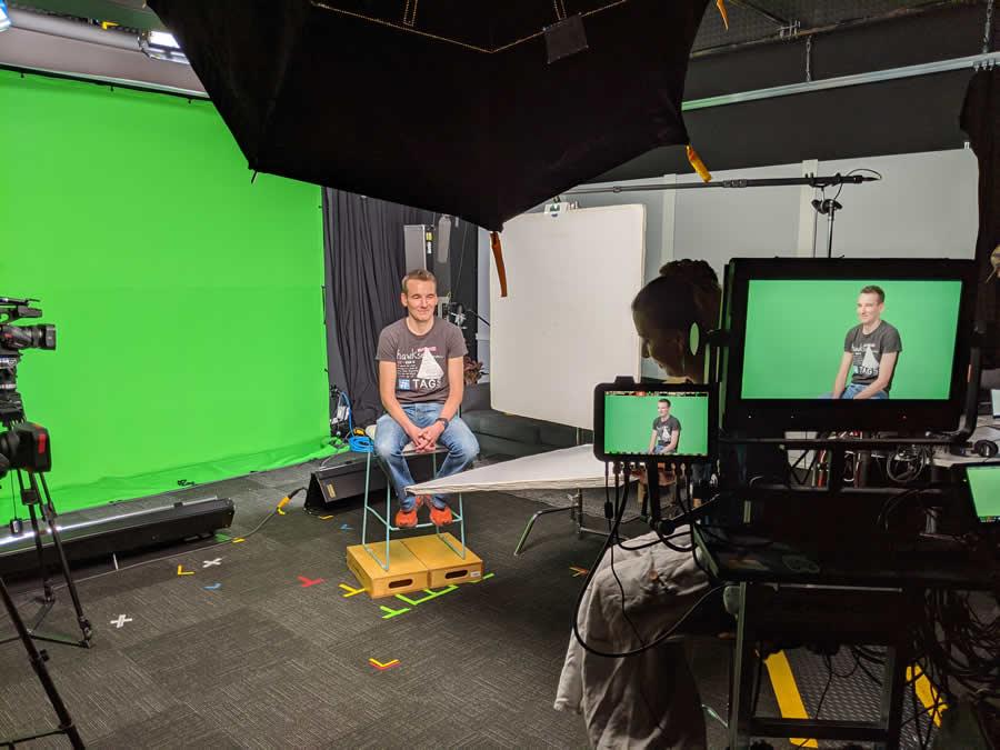 Google Apps Script Video Shoot - photo by Charles Maxson