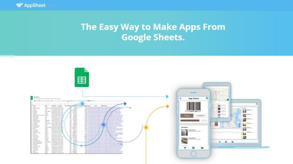 AppSheet - Google Sheet integration
